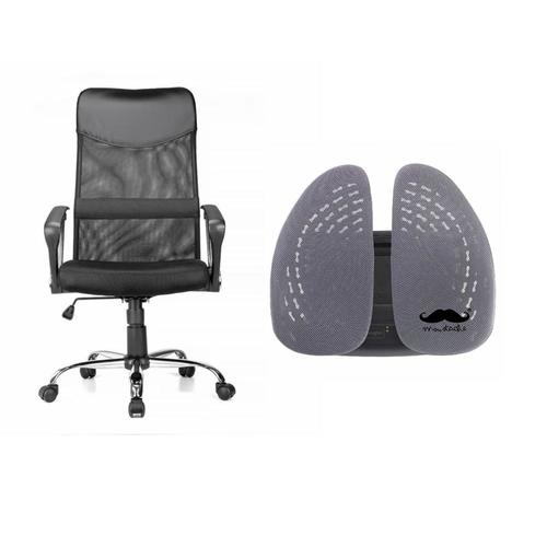 Ergonomic Chair And Backrest Support Combo