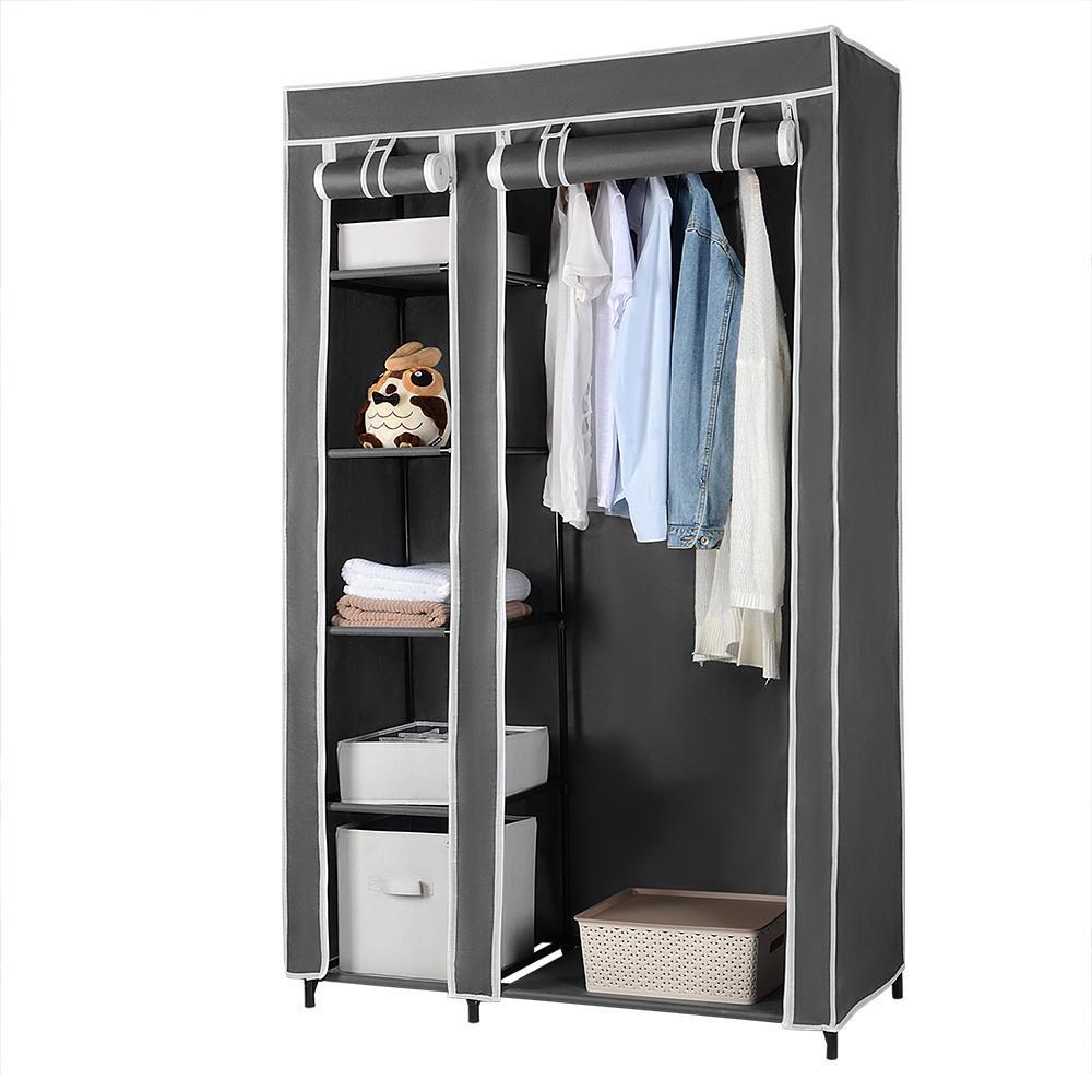 Clothing Wardrobe Storage Wardrobe Shelves Portable