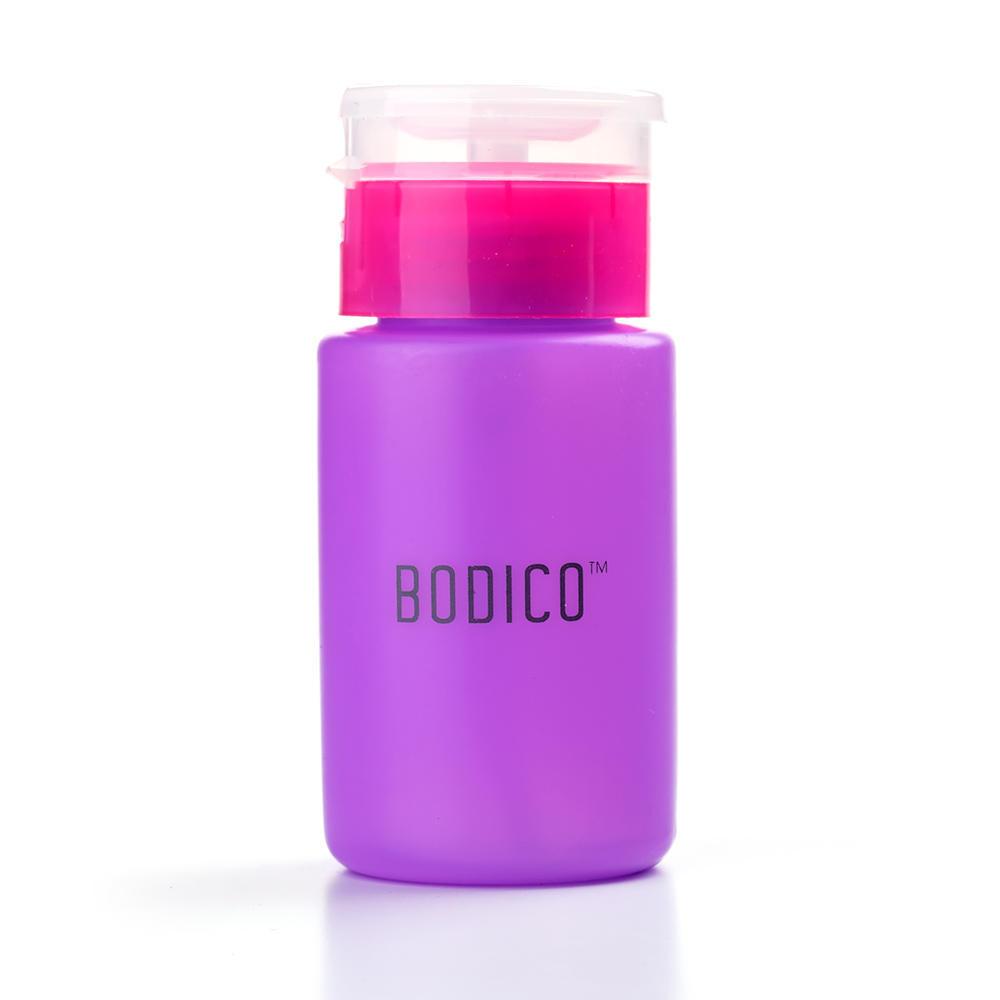 2c850fb42091 Pump Dispenser Bottle Nail Polish Remover Empty Bottle 100ml, Random Color