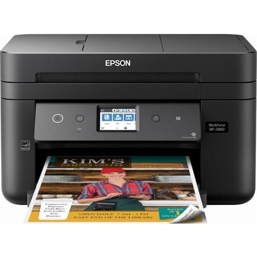 Epson Workforce WF-2860 All-in-One Color Inkjet Printer (C11CG28201)