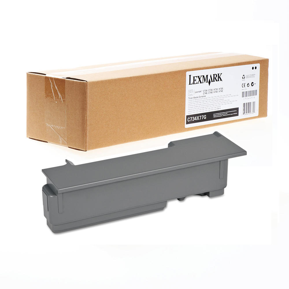 Waste Toner Box for Lexmark C734 Series C736 Series 25K Page Yield C734X77G