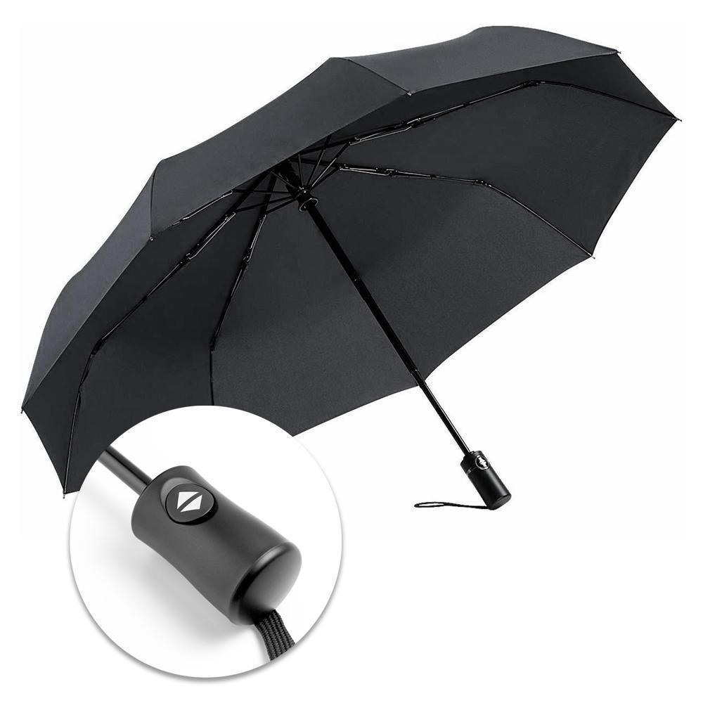 Toron-to Maple Leafs Compact Auto Open Close Folding Business Umbrellas UV Protection Automatic Tri-fold Umbrella for Men and Women Lovesofun Portable Automatic Umbrella