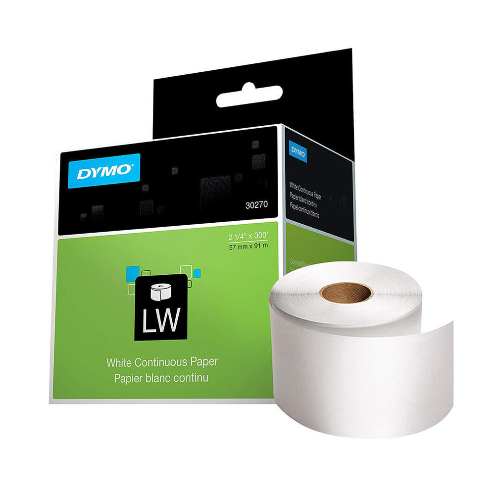 DYMO® Duo Compatible 2 Rolls Of White Address 30334 Return 1000 Labels Per Roll