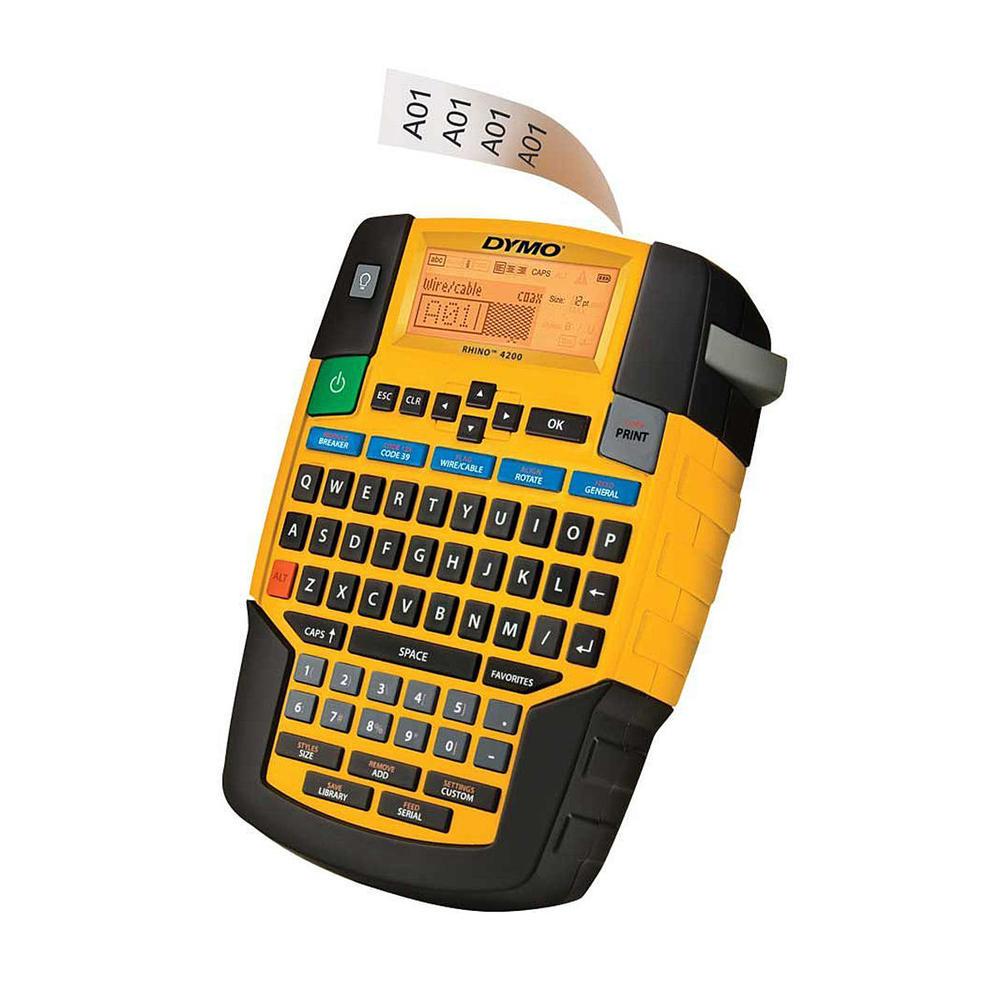 Tool DYMO Rhino Industrial 4200 Case Kit Label Machine