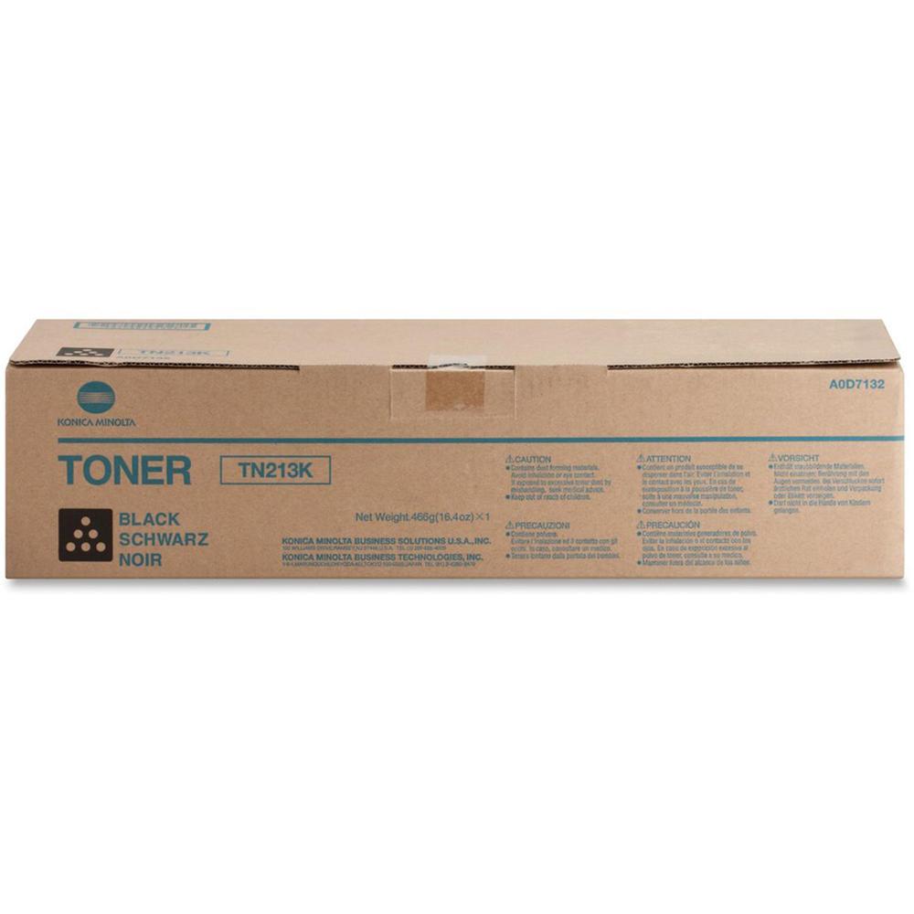 Works for bizhub C203 Laser Toner Cartridge bizhub C253 Konica Minolta A0D7132 Konica Minolta TN213K