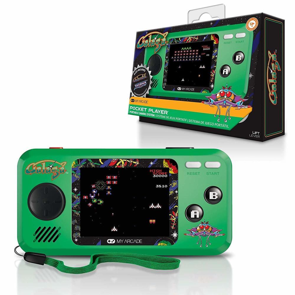 Dreamgear Pocket Galaga Player Handheld Game Console