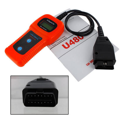 Reviews of U480 Can OBD-II OBD2 Auto Scanner Fault Code