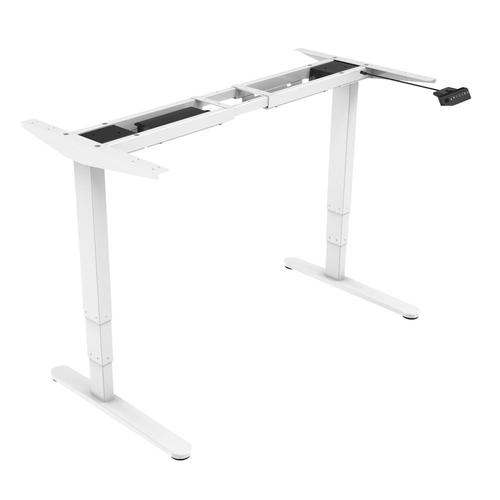 Prime Cables Sit-Stand Dual-Motor Height Adjustable ADR Desk Frame, Electric-White, Cab-M02-23R-WH