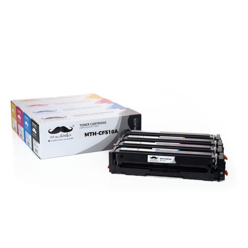 Moustache Compatible HP 204A CF510A CF511A CF512A CF513A Toner Cartridge Combo BK/C/M/Y