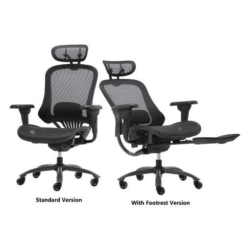 Moustache Luxury Ergonomic Office Chair with Headrest MOFC-1062E